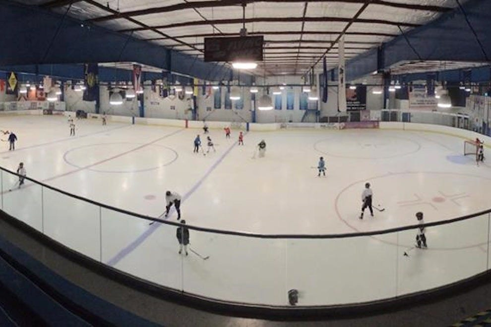 The Space Coast Iceplex offers hockey, figure skating and more
