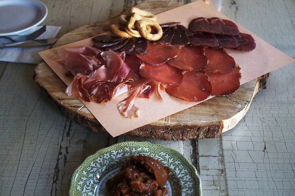 Charcuterie is an excellent choice for an appetizer