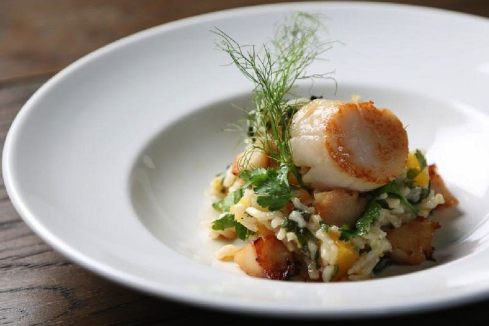 Winterlicious meals – likes this risotto at Il Fornello – will warm your winter spirit