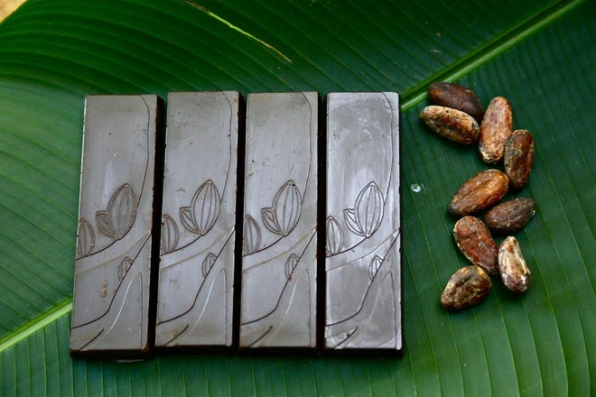 哥斯达黎加的巧克力店