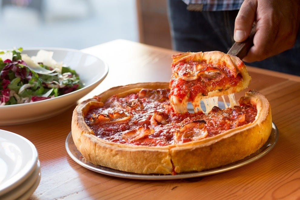 Go deep with your pie at Patxi's in Ballard