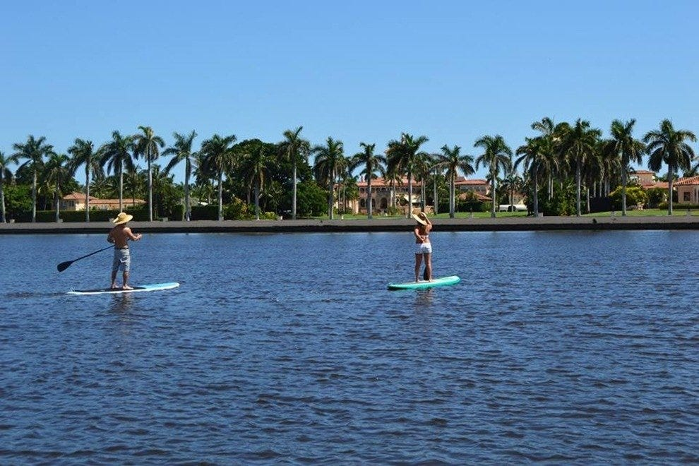 Paddle Boarding Palm Beach