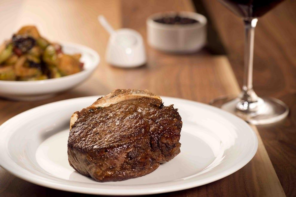 Steak House In Long Beach Part - 24: A Luscious Filet Mignon Steak At Chianina Steakhouse U2014 Photo Courtesy Of  Chianina Steakhouse