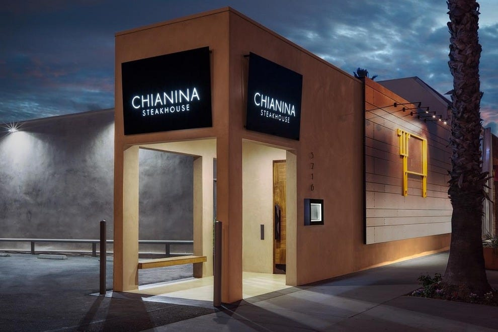 Chianina Steakhouse in Long Beach