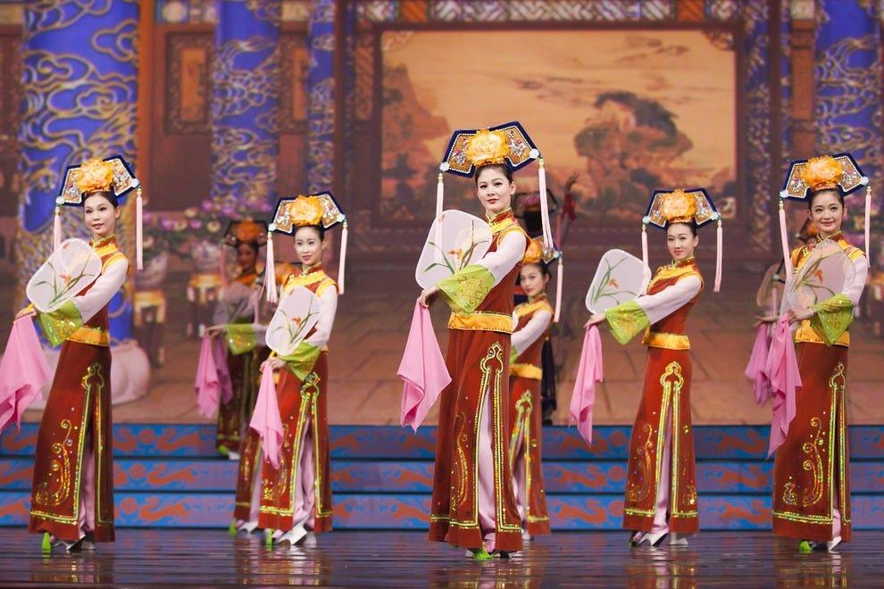 美丽的申云2015舞者
