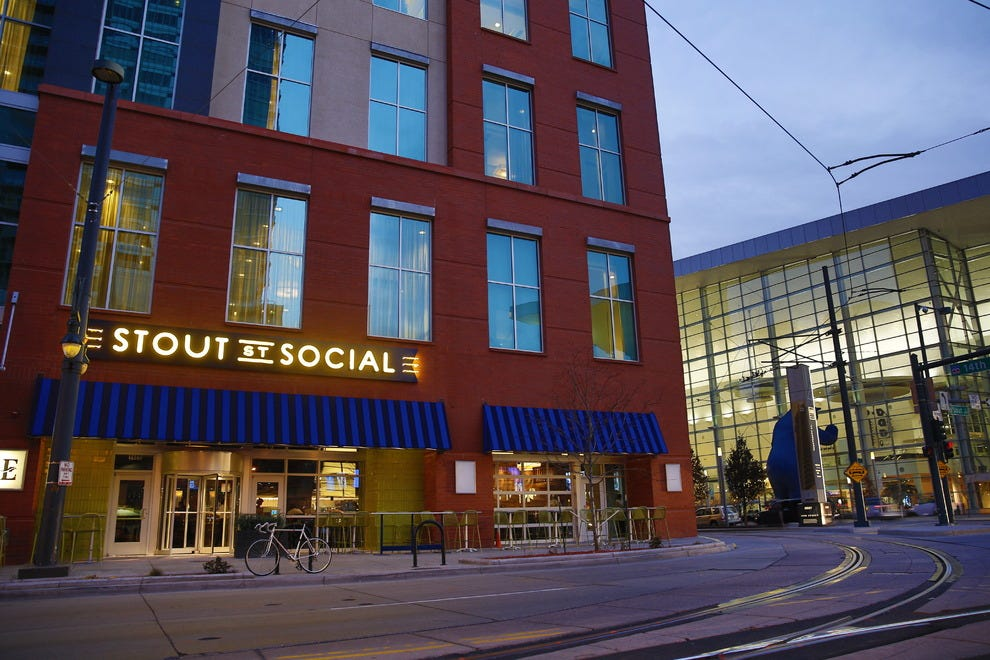 Stout Street Social is a modern, energetic restaurant and bar in Denver