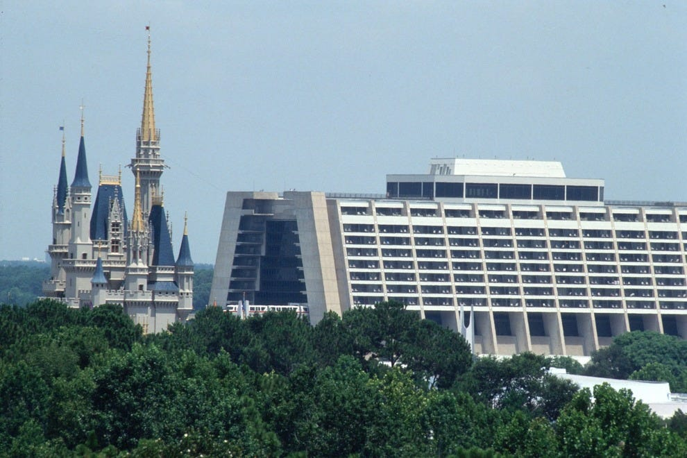 Disney S Contemporary Resort Orlando Hotels Review