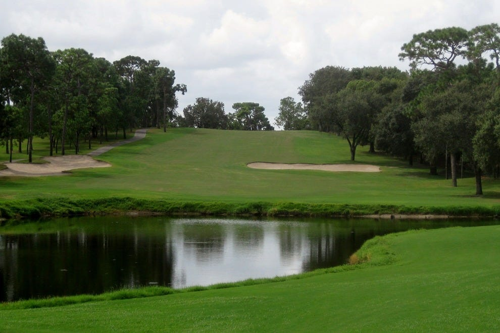 Easily the most challenging course in Tampa Bay, Innisbrook's Copperhead course even stumps the pros