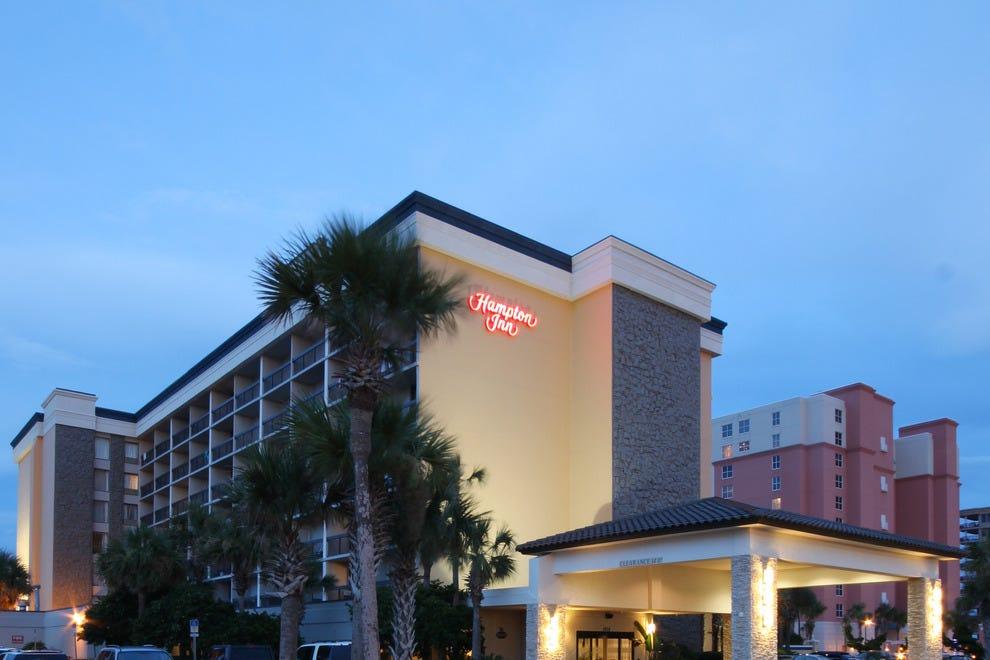 Hampton Inn Jacksonville Beach Oceanfront Jacksonville