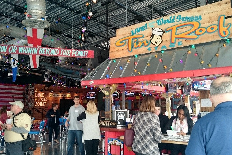 Tin Roof Orlando Orlando Restaurants Review 10best