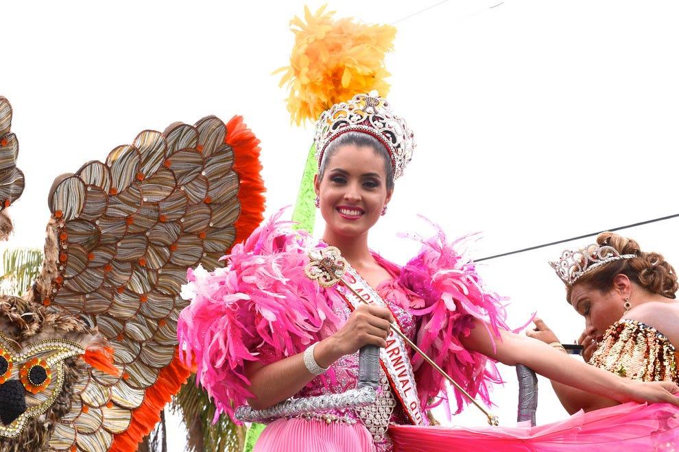 阿鲁巴的狂欢女王2014