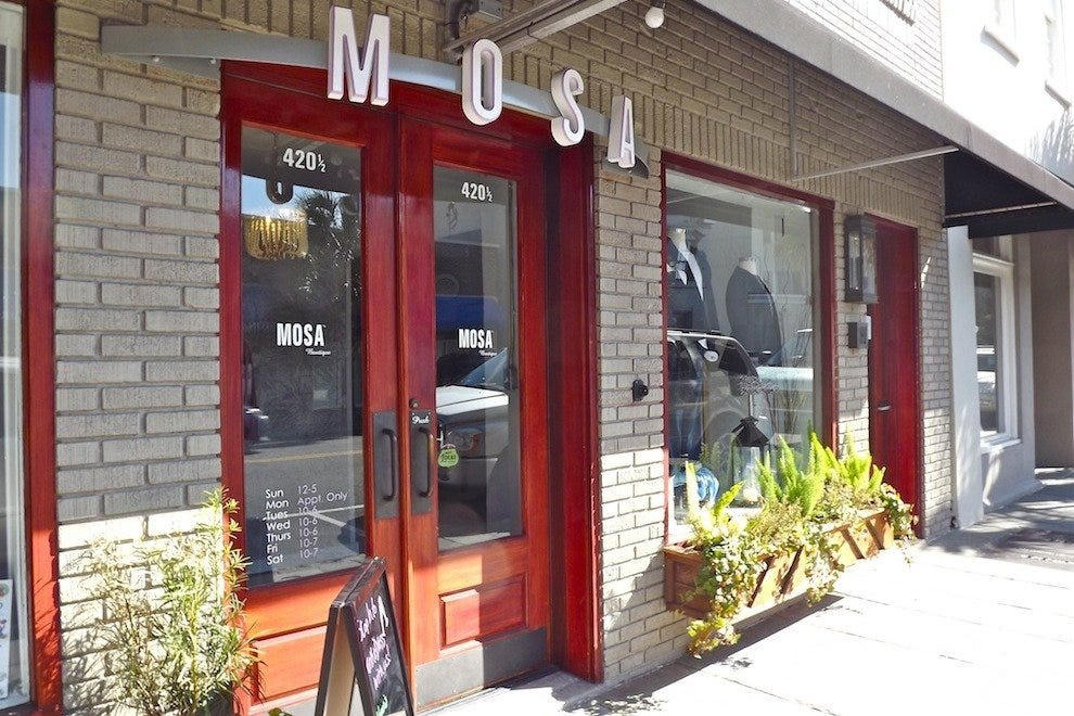 Visit MOSA on Upper King Tuesday through Sunday or by private appointment
