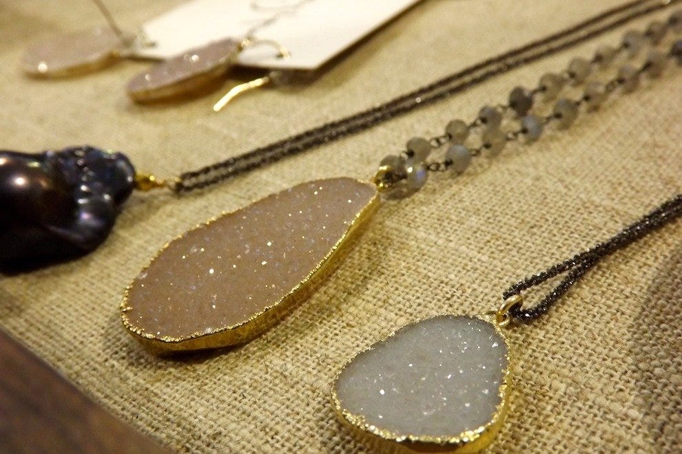 Mickey Lynn necklaces and accessories at MOSA Boutique on Upper King