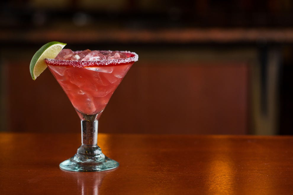 The Pomegranate Romarita, regularly priced at $9, will be $2.22 on National Margarita Day