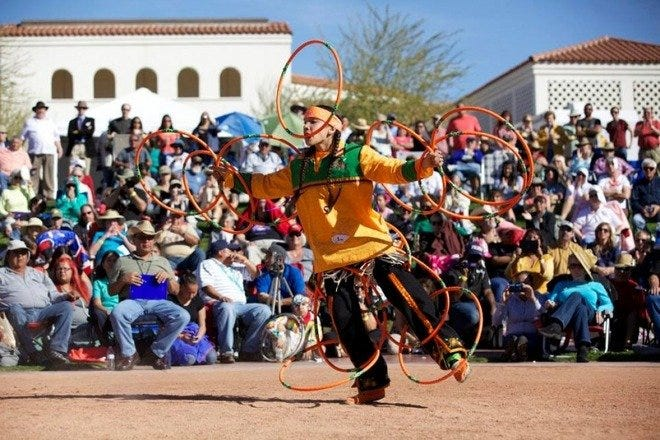 Heard Museum World Championship Hoop Dance Contest