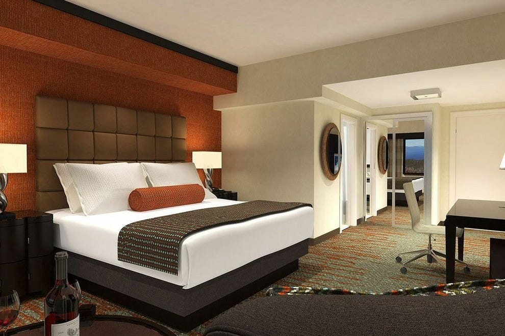A suite at the Hard Rock Hotel & Casino in Lake Tahoe