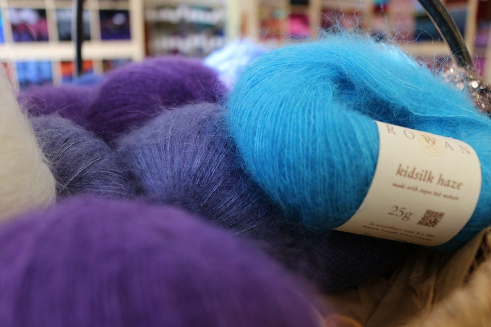 Colourful yarns are a way to brighten your spirit