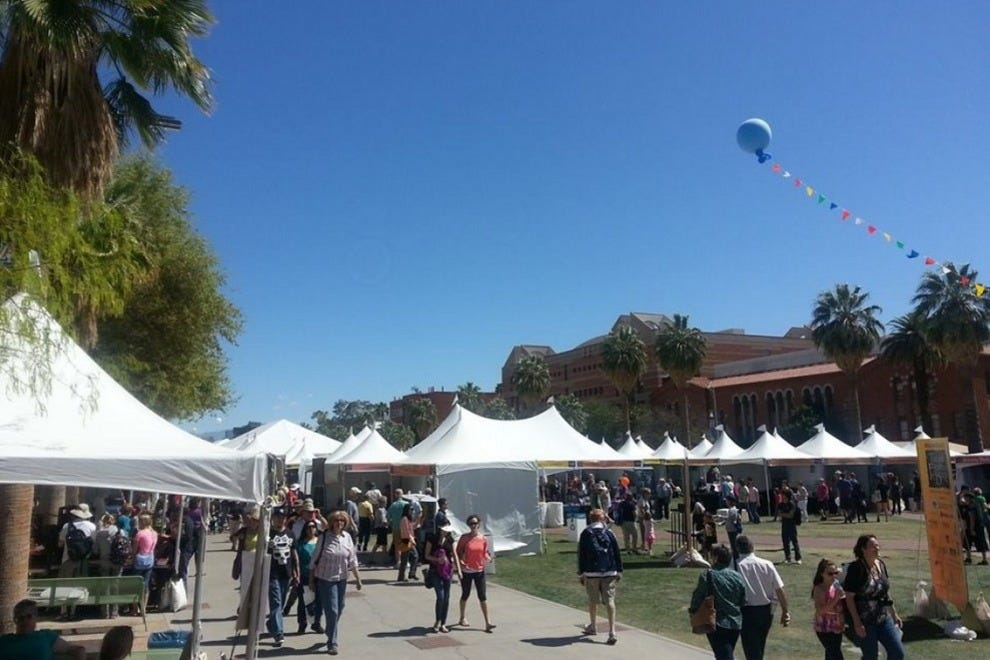 More than 150,000 book-lovers are expected to visit the Tucson Festival of Books this spring, a weekend-long celebration of all things literary
