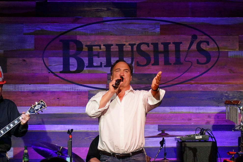 Actor/comedian Jim Belushi often takes the stage at his Fort Myers comedy club