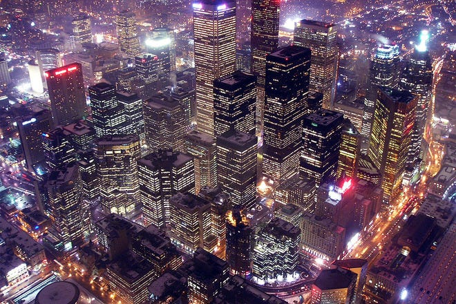 Sightseeing in Toronto