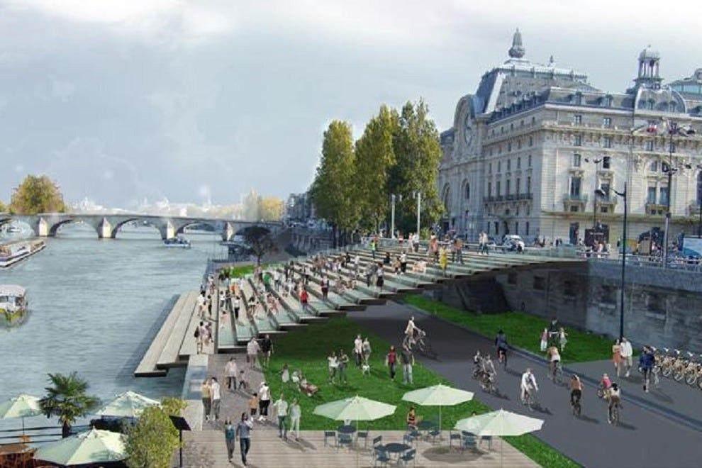Les berges de seine paris attractions review 10best for Piscine publique paris