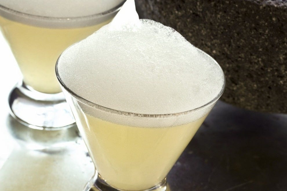 Oyamel's signature Salt Air Margarita