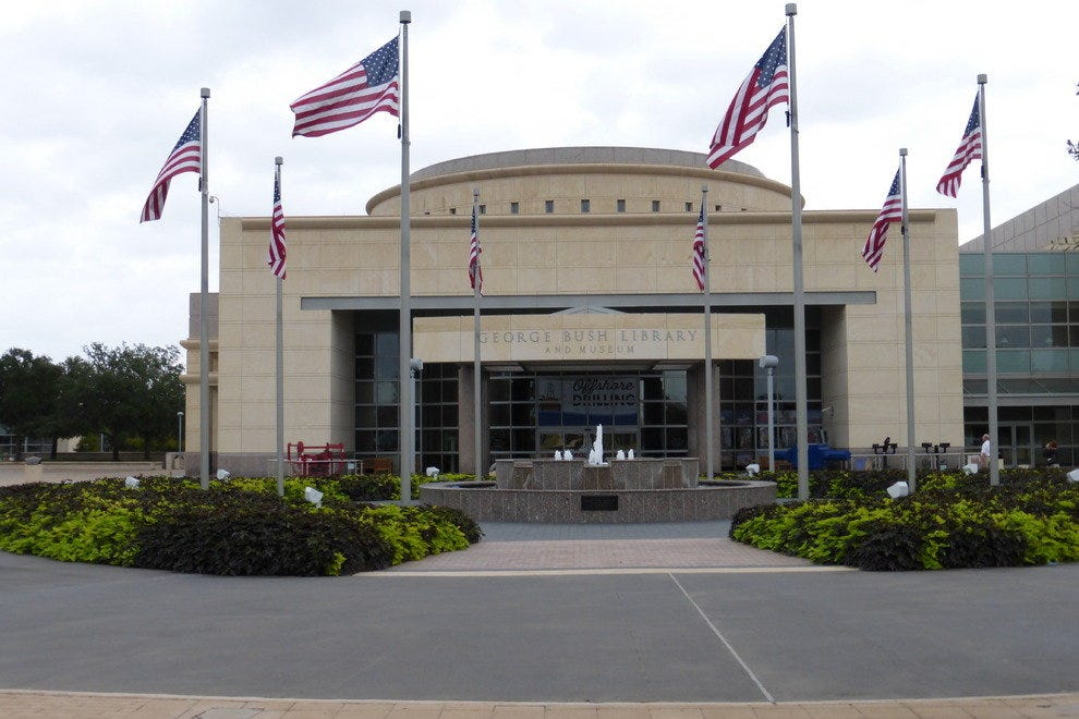 Presidential Peek At George Bush Library And Museum Arts