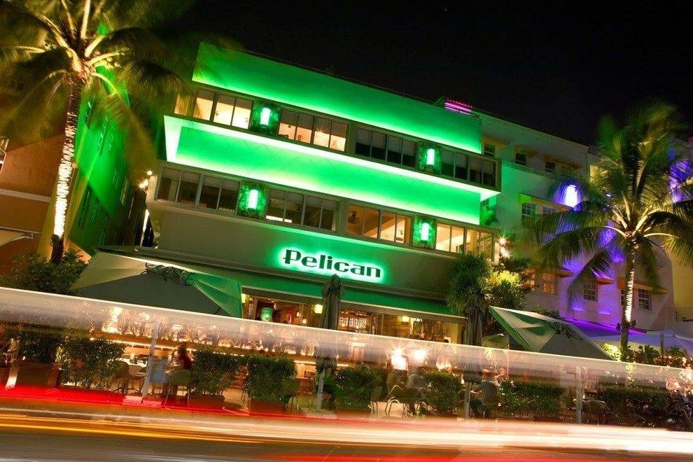 The Pelican Cafe Miami Beach Menu