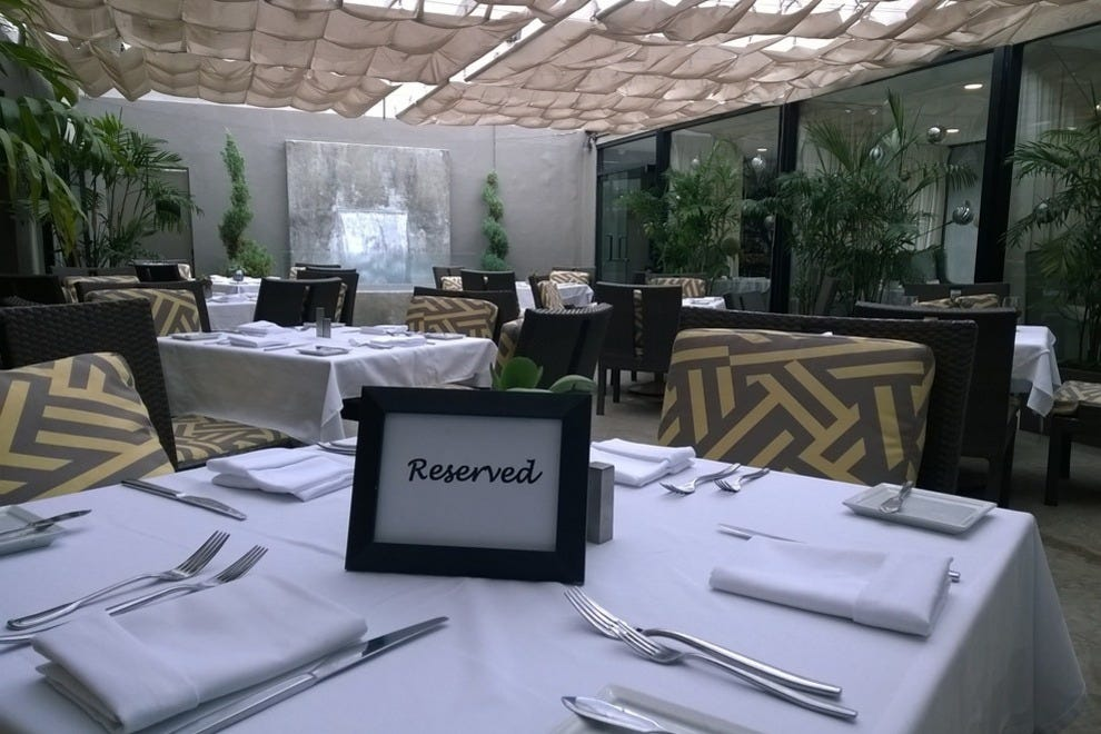 For a little romance, dine al fresco at On Sunset at Luxe Sunset Boulevard Hotel