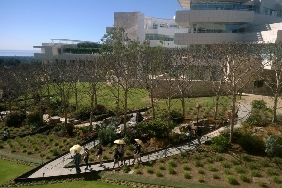 The Getty Center is captivating in every season