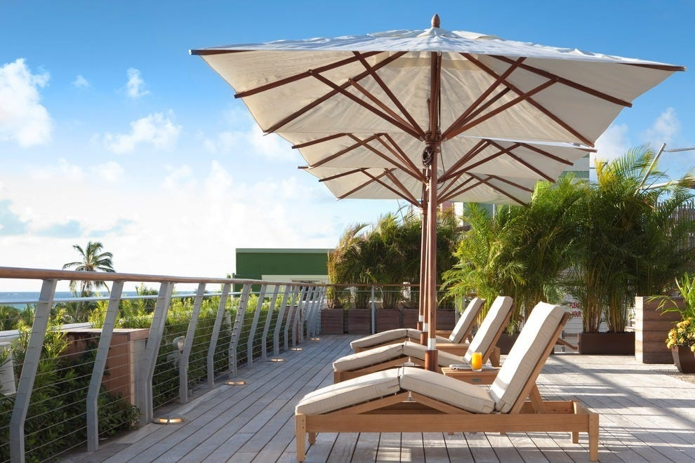 Writers and artists will find true inspiration as they watch the sunrise on The Betsy Hotel's sun deck, overlooking the Atlantic