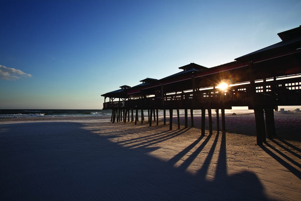 Panama City Beach has 27 miles of beaches prime for tanning and partying