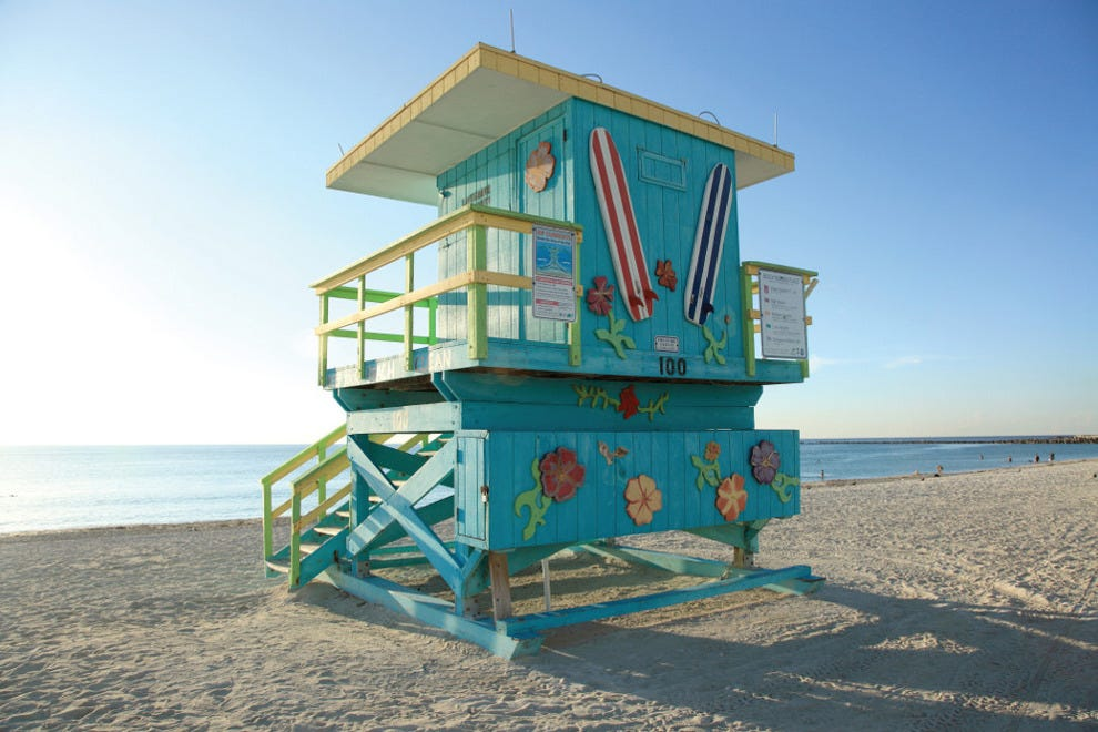 South Beach is known for its white sand and warm water, as well as its party scene