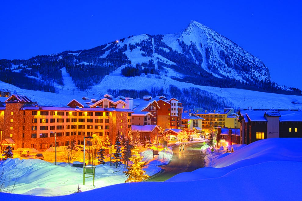 Crested Butte Mountain Resort has small-town charm and great ski slopes