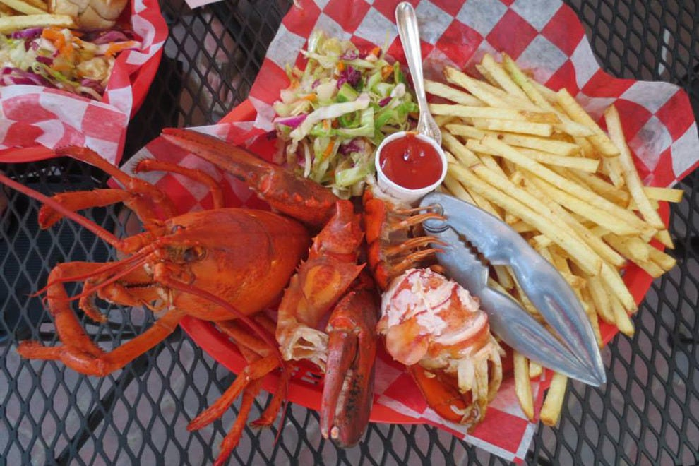 Morgan's offers fresh Maine lobster daily