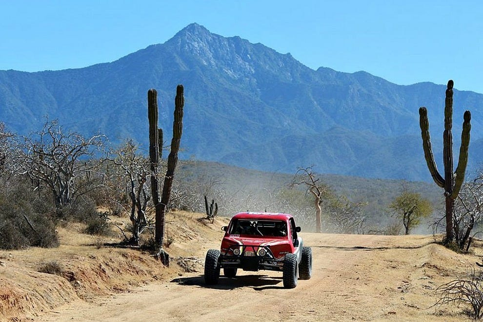 The Baja California peninsula is famous for its rugged off-road races and excursions