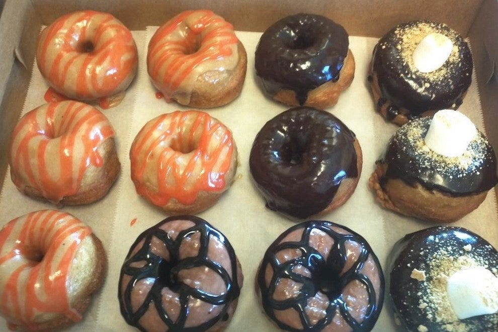 All Diggity Doughnuts offerings are organic and free of eggs and dairy