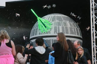 Legoland California Unveils Death Star at 'Star Wars' Miniland