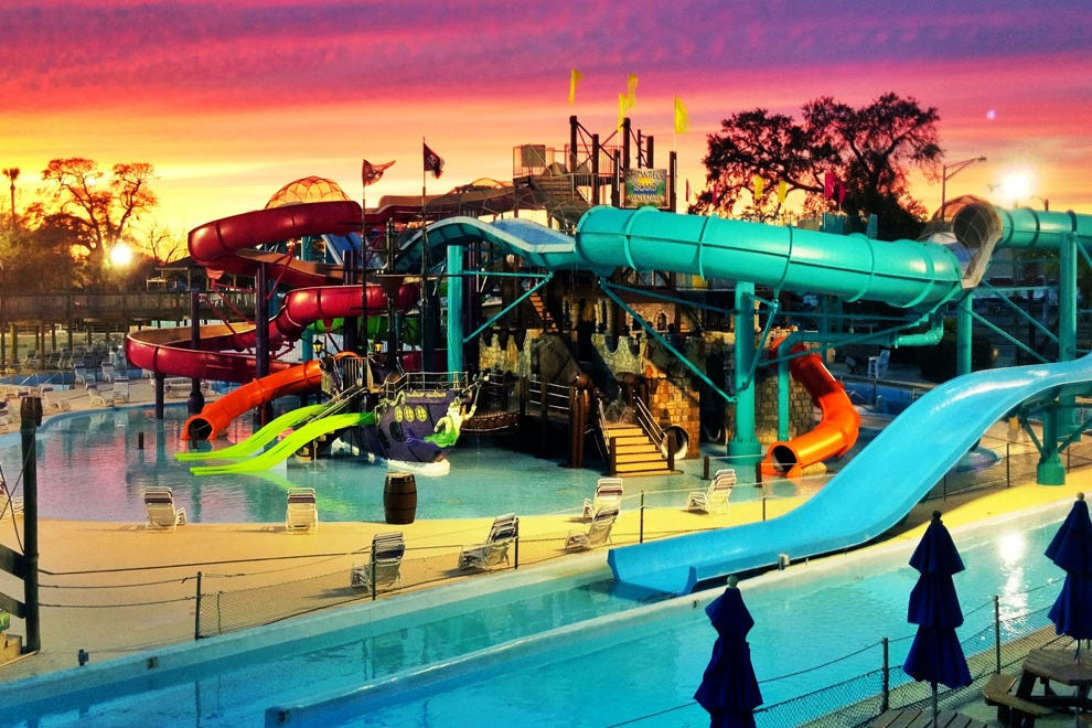 Splash your way to fun at Shipwreck Island Waterpark