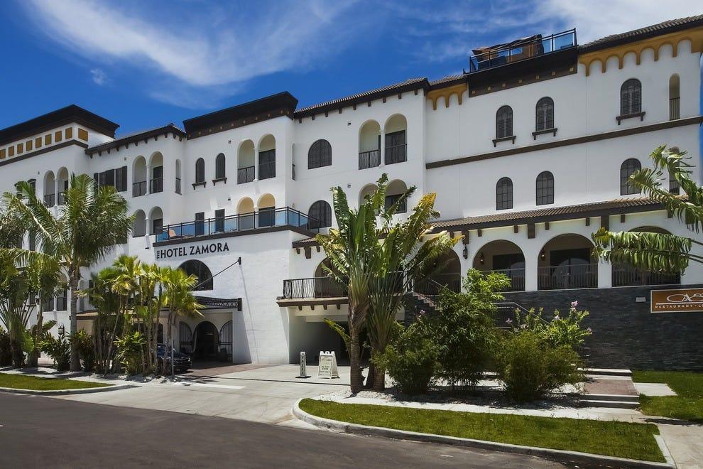萨莫拉酒店是圣路易斯第一家新开的酒店。Pete Beach in more than two decades