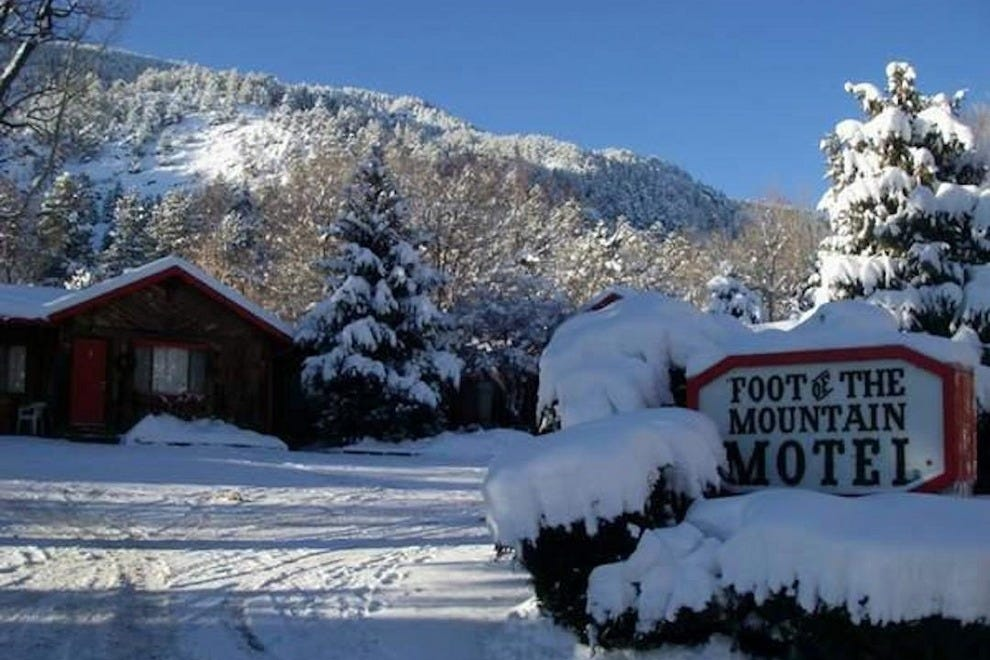 Foot of the Mountain provides a cozy winter haven, too