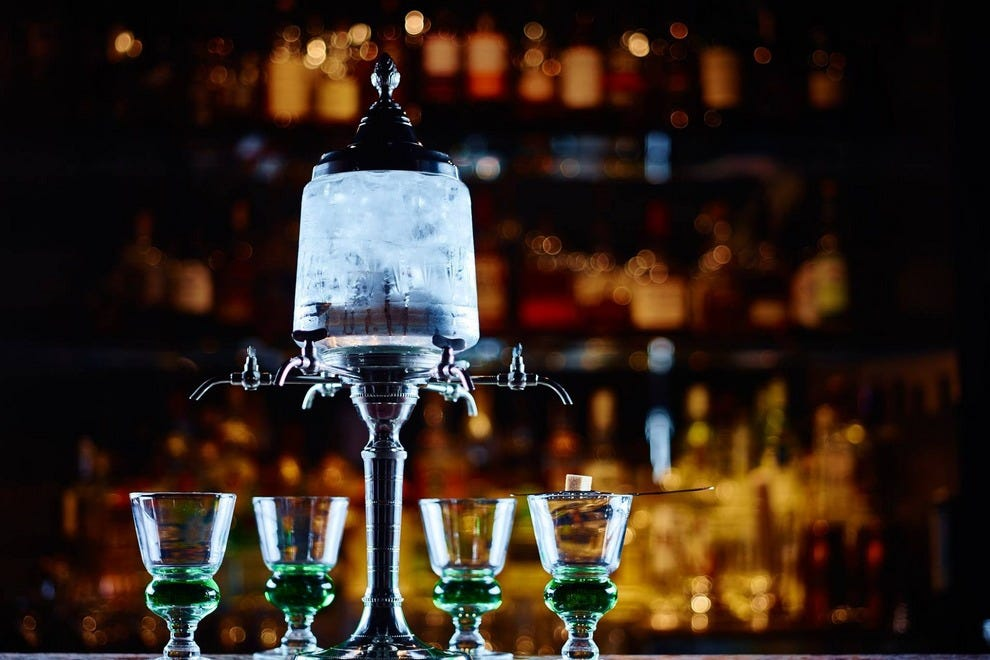 Prohition serves up absinthe in beautiful fountains