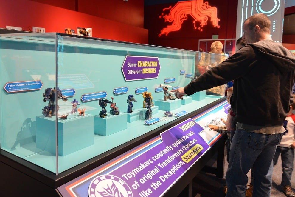 Transformers are brought to life at The Children's Museum of Indianapolis