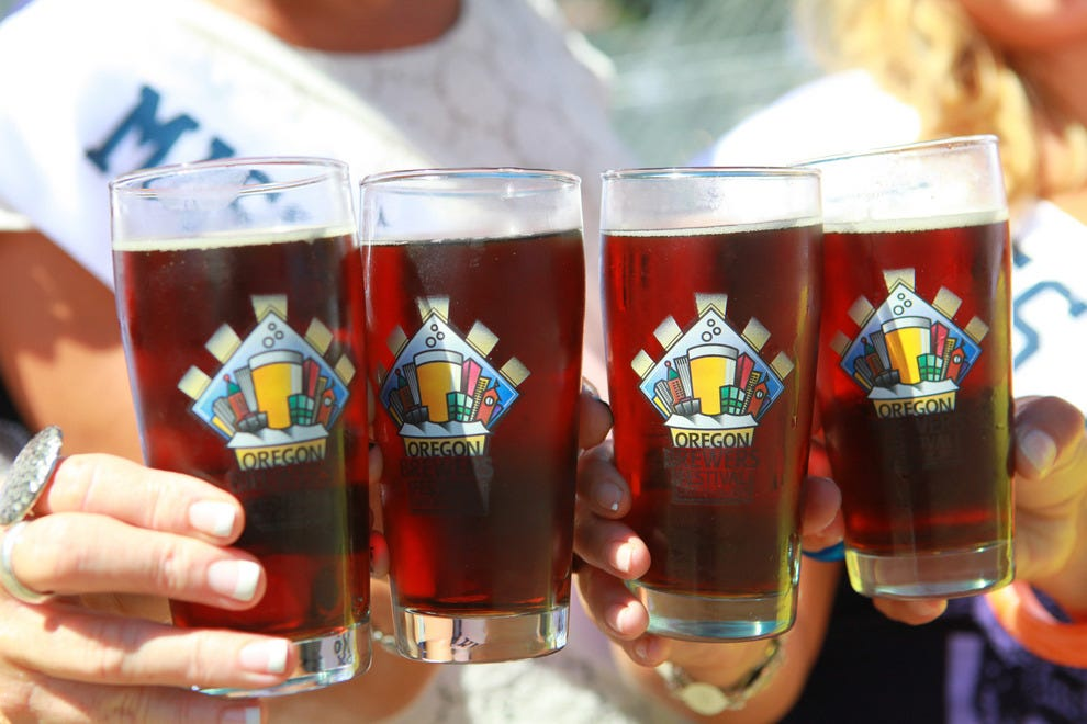Taste beers from around the world at the Oregon Brewers Festival