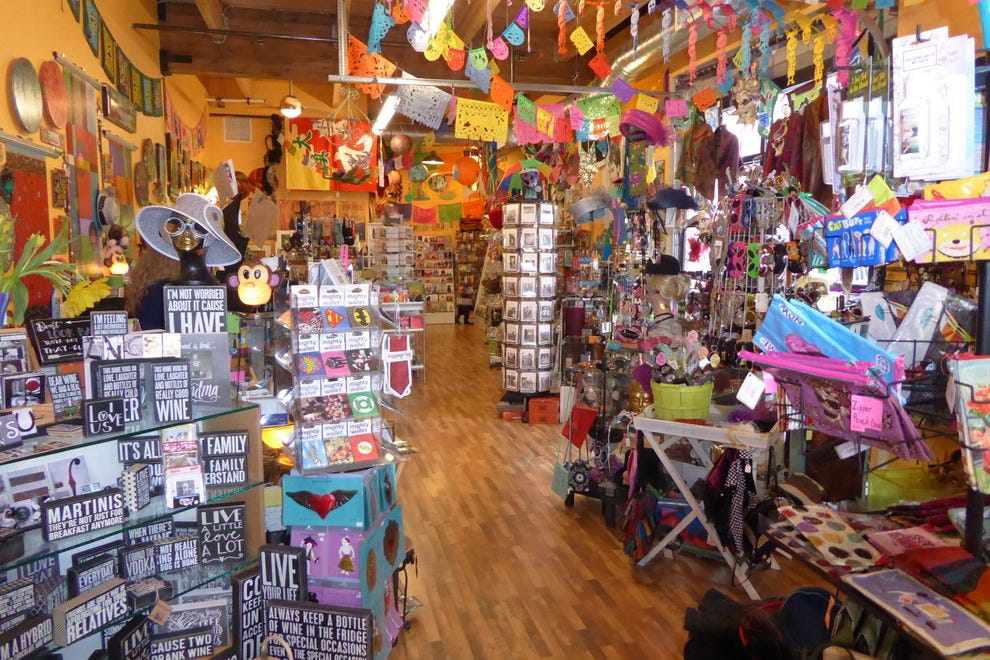 Gumbo, an extra colorful boutique on Mississippi Avenue
