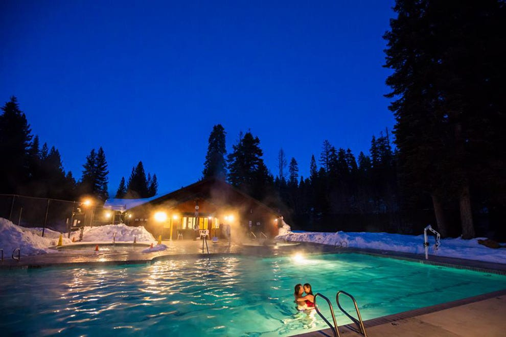 The Granlibakken heated pool can be enjoyed year-round
