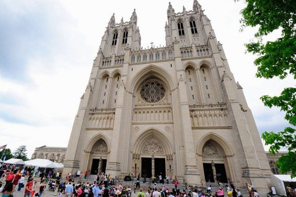 Thousands are expected to flock to the Washington National Cathedral's annual Flower Mart