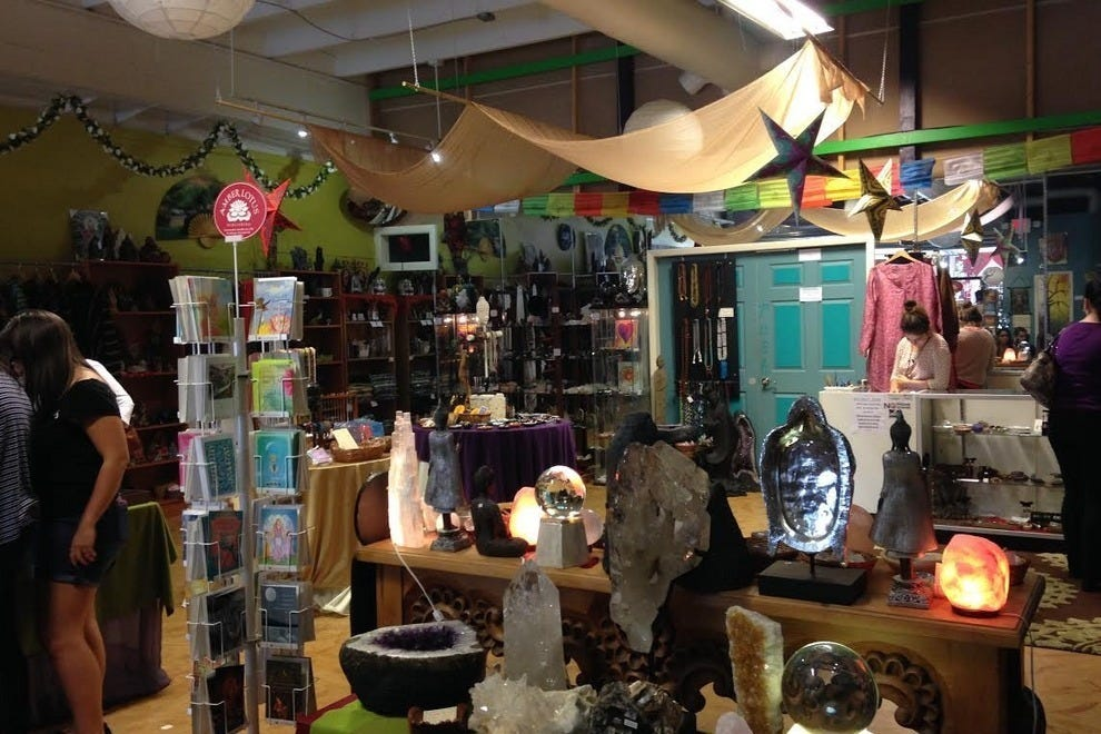 Five Sisters provides an eclectic shopping experience for those looking for a little spiritual enlightenment