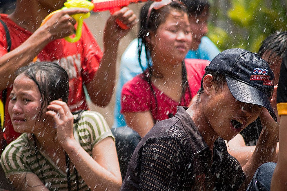 Summer fun at Songkran