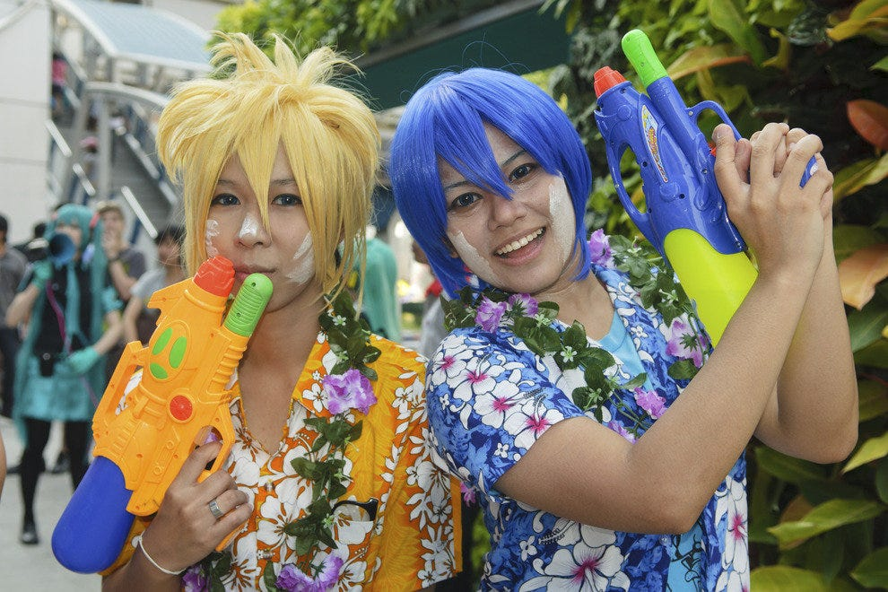 Color and fun at Songkran